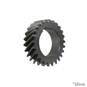 Gear wheel on crankshaft for camshaft drive